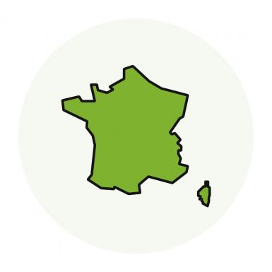 Régions de production
