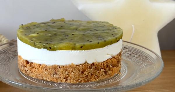 Cheesecake kiwi sans cuisson card