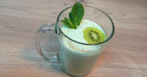 Smoothie kiwi yaourt grec card