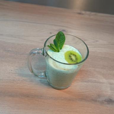 smoothie kiwi yaourt grec
